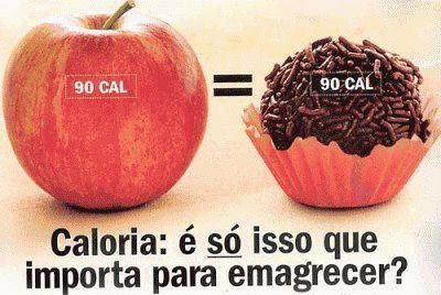 As calorias nao sao iguais