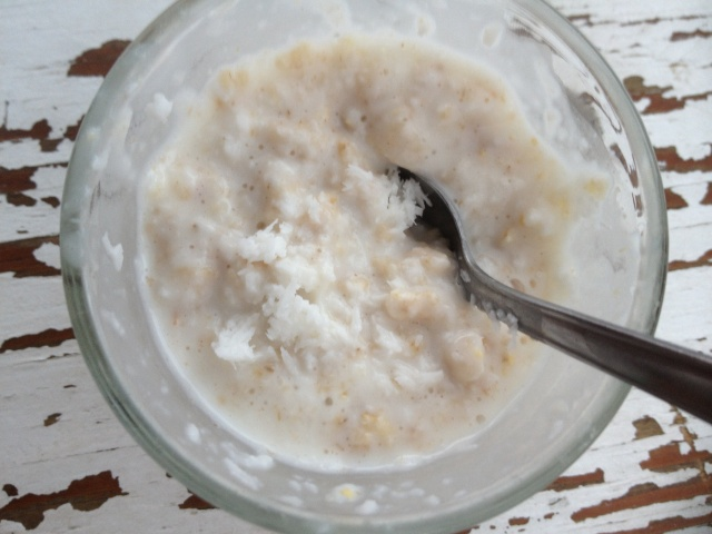 Low carb coco aveia