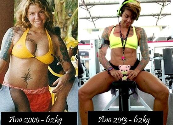 Gordura vs músculo