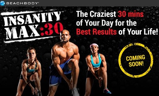 Insanity Max 30, insantiny max 30 completo, video insanity max 30, novo programa shaun t